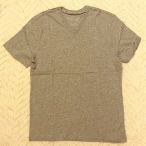 Banana Republic Grey V Neck T Shirt